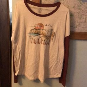 Women's long sleeve top. M.   Volcom